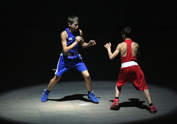 Церемония открытия первого международного боксерского форума