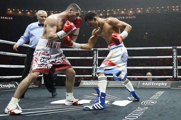 Михаил Алоян и Александр Эспиноза (слева направо)