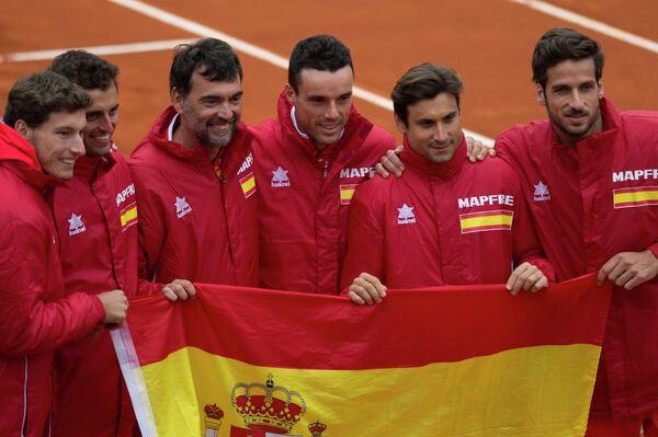 Теннисисты сборной Испании