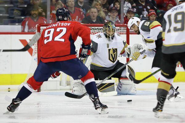 Форвард клуба НХЛ Вашингтон Кэпиталз Евгений Кузнецов (№92)