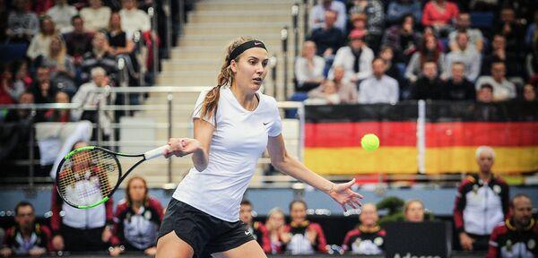 Немецкая теннисистка Антония Лоттнер
