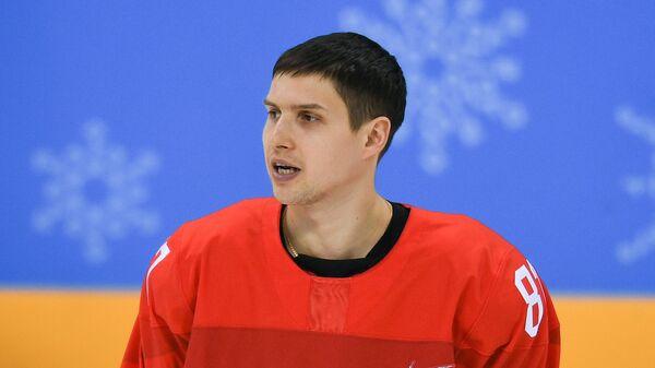 Российский хоккеист Вадим Шипачев
