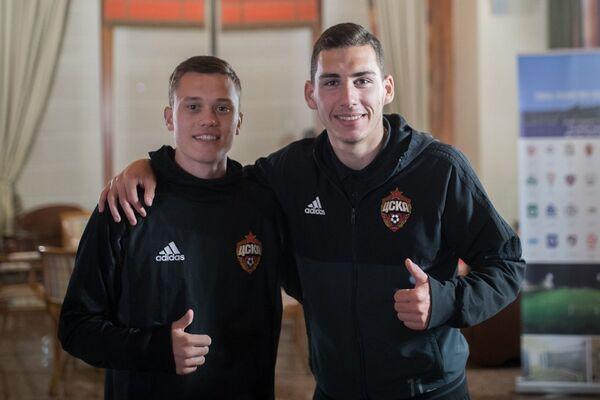Наир Тикнизян (справа) и Виталий Жиронкин