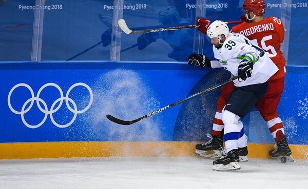Ян Муршак (на первом плане) и Михаил Григоренко