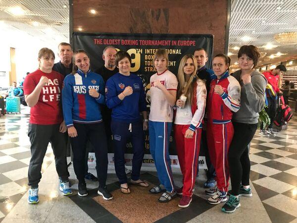 Женская сборная России по боксу