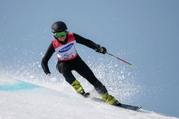 Российская горнолыжница Мария Папулова