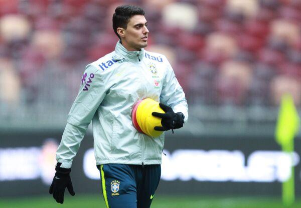 Защитник сборной Бразилии Фагнер Лемос