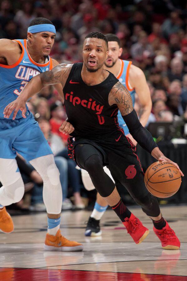 Защитник клуба НБА Портленд Трэйл Блэйзерс Дамиан Лиллард