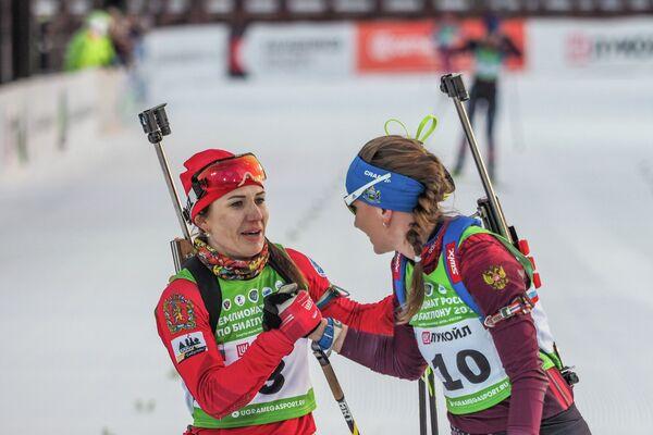Маргарита Васильева (слева) и Виктория Сливко