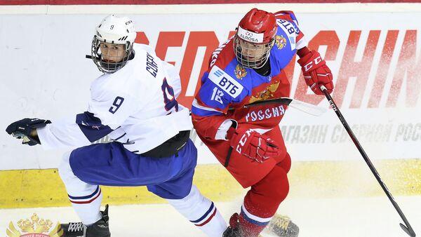 Нападающий юниорской сборной России (до 18 лет)  Кирилл Марченко