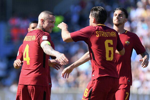 Футболисты Ромы