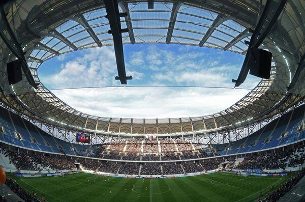 На стадионе Волгоград Арена. Архивное фото