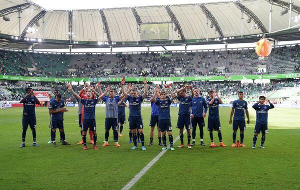 Футболисты немецкого Гамбурга