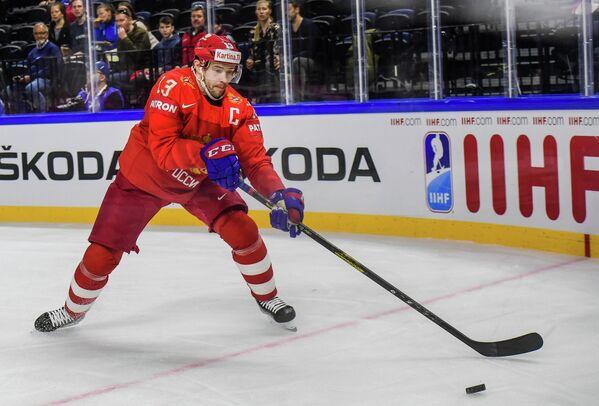 Нападающий сборной России Павел Дацюк