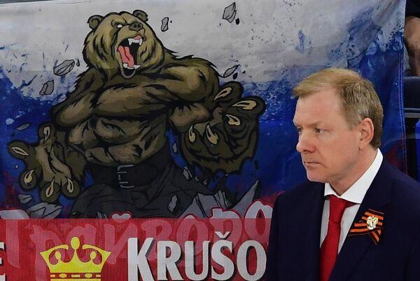 Старший тренер сборной России Алексей Жамнов