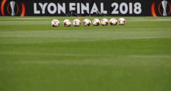 Афиша финала Лиги Европы Марсель - Атлетико