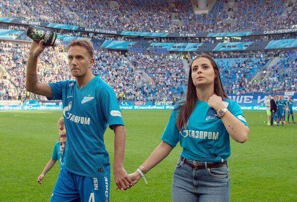 Доменико Кришито с женой