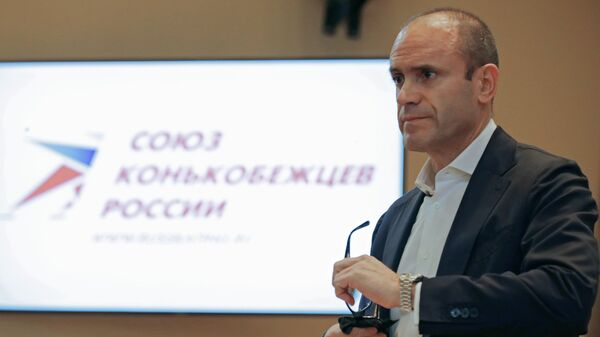 Президент Союза конькобежцев России Алексей Кравцов