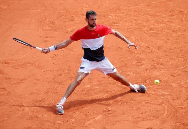 Хорватский теннисист Марин Чилич