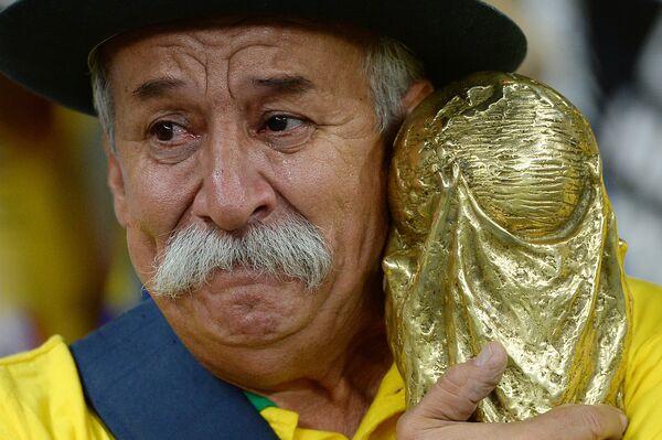 Болельщик сборной Бразилии Кловис Фернандес