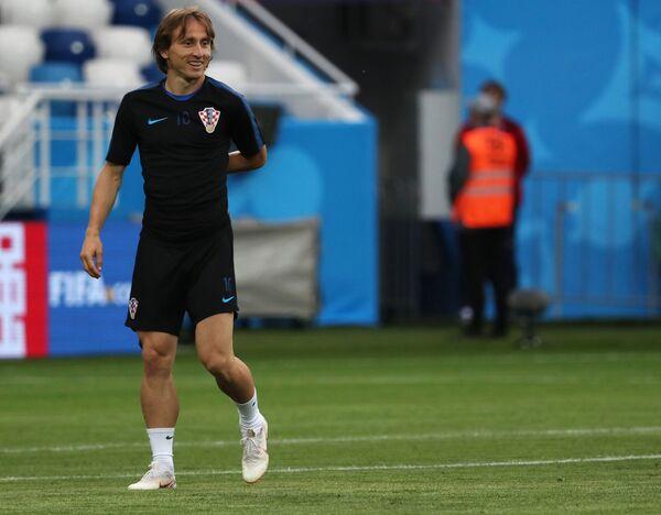 Хавбек сборной Хорватии Лука Модрич