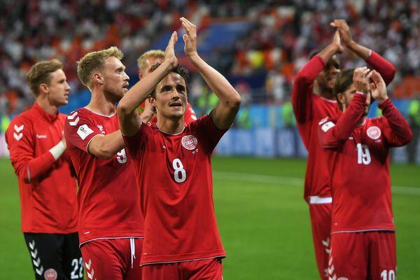 Футболисты сборной Дании