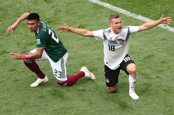 Футбол. ЧМ-2018. Матч Германия - Мексика