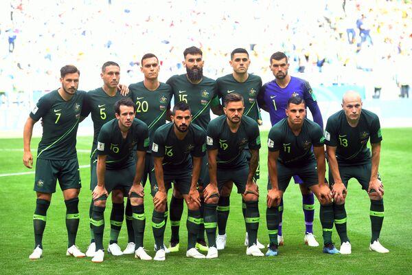 Футболисты сборной Австралии