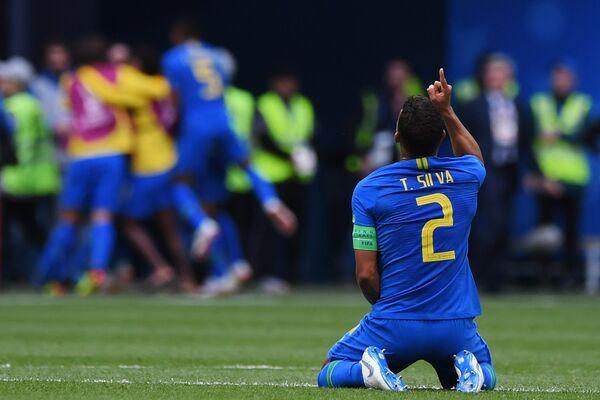 Капитан сборной Бразилии Тиаго Силва