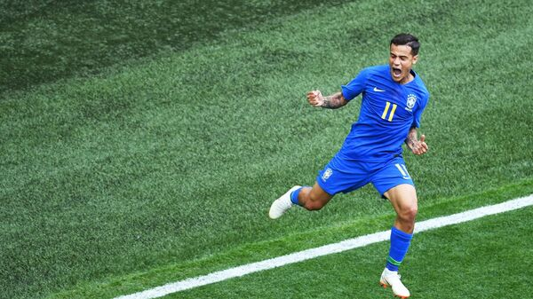 Полузащитник сборной Бразилии Филиппе Коутиньо