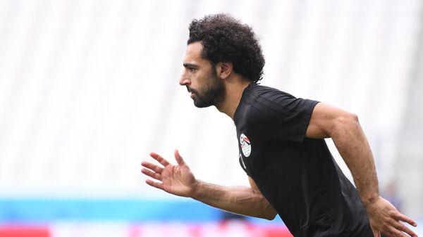 Форвард сборной Египта Мохамед Салах