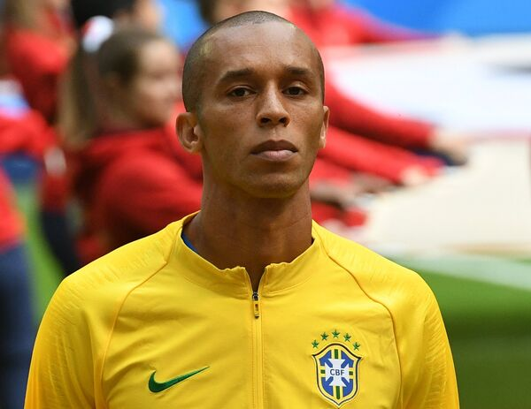 Защитник сборной Бразилии Миранда