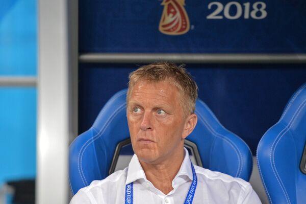 Главный тренер сборной Исландии Хеймир Халльгримссон