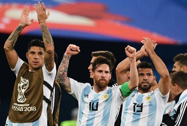 Игроки сборной Аргентины