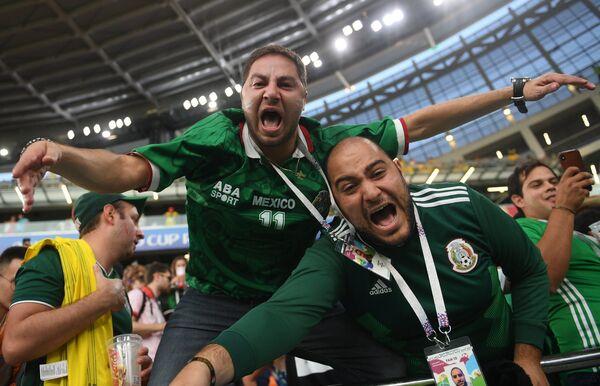Болельщики сборной Мексики