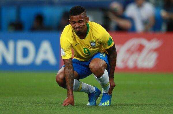 Нападающий сборной Бразилии Габриэл Жезус