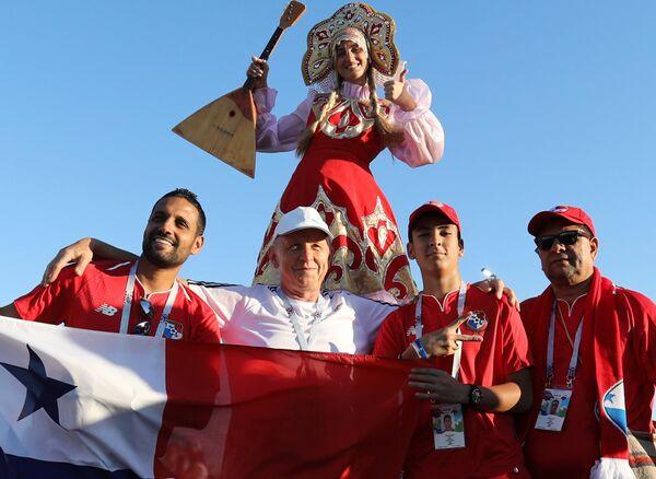 Болельщики сборной Панамы