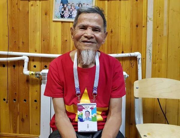 Чан Хоп, самый старый болельщик на ЧМ-2018