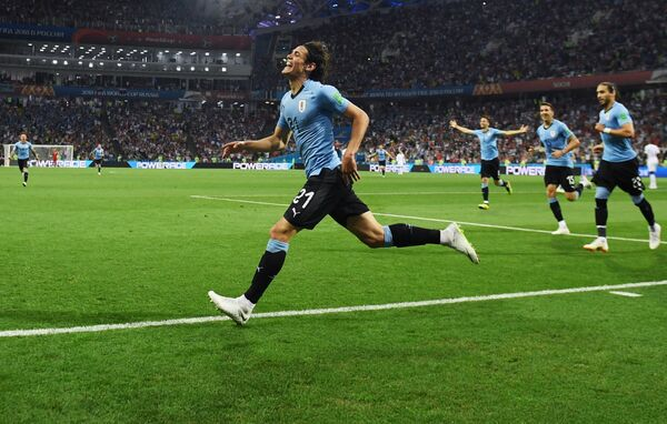 Нападающий сборной Уругвая Эдинсон Кавани