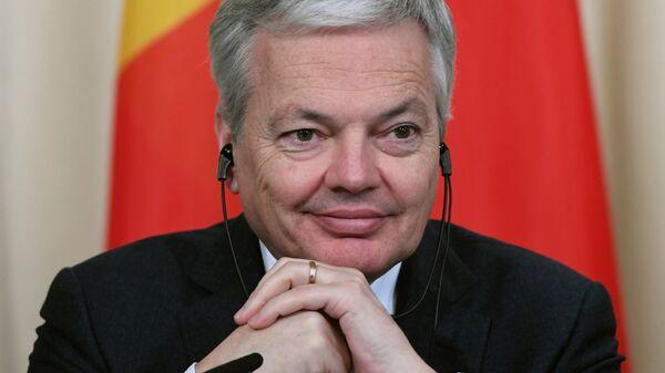 Глава МИД Бельгии и Д. Рейндерс