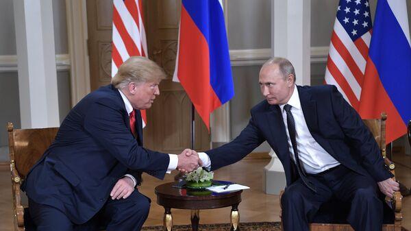 Владимира Путин и Дональд Трамп