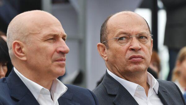Сергей Прядкин (справа) и Сергей Чебан
