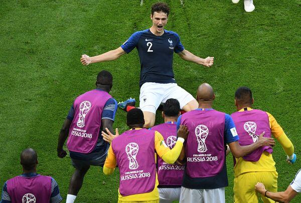 Гол защитника сборной Франции Бенжамена Павара