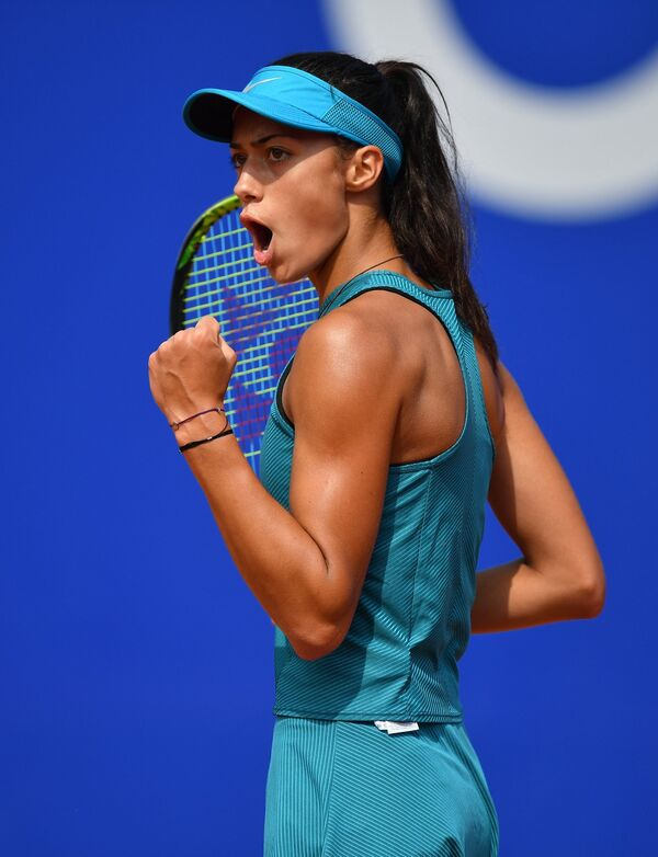 Сербская теннисистка Ольга Данилович