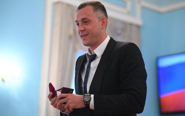 Форвард сборной России по футболу Артем Дзюба