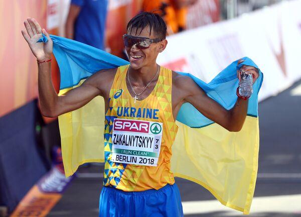 Украинский атлет Марьян Закальницкий