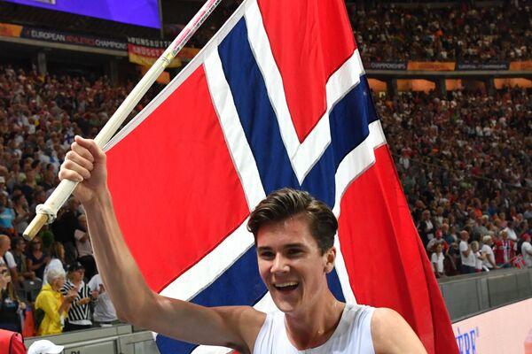 Норвежец Якоб Ингебригтсен
