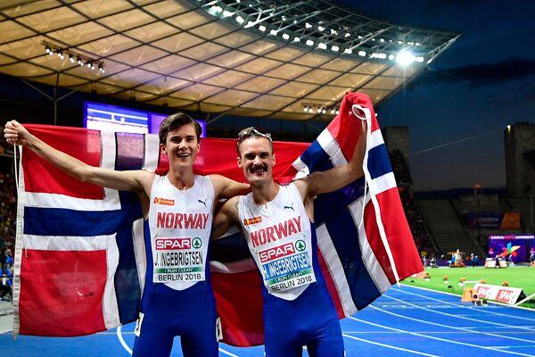 Братья Якоб (слева) и Хенрик (справа) Ингебригтсены