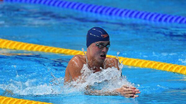Российский пловец Антон Чупков