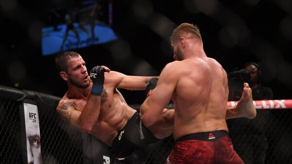UFC запретил украинскому бойцу выйти воктагон под песню «День Победы»